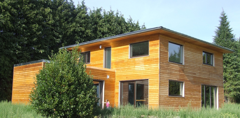 R alisations terra bois for Maison passive design